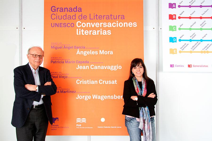 II Ciclo de conversaciones literarias en la Feria del Libro de Granada