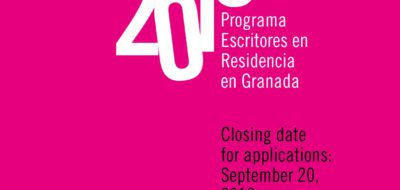 Writers residencies – Granada UNESCO City of Literature