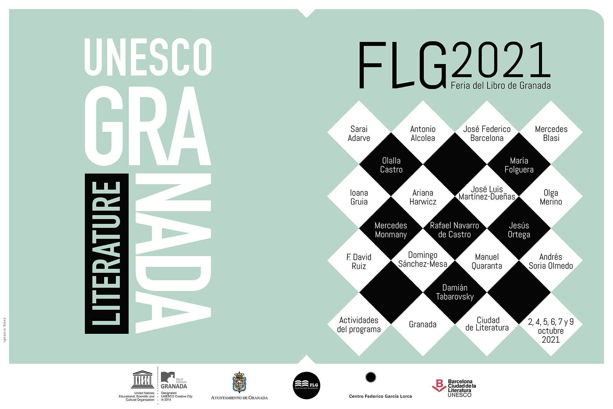 Cartel_general_actividades_Granada_UNESCO_Feria_del_libro_de_Granada_2021